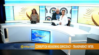 Corruption weakening democracy -Transparency International