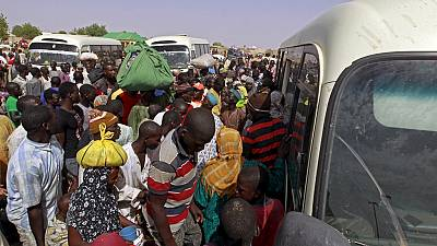 30000 flee Nigeria as troops abandon them to Boko Haram