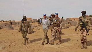 Mali: MINUSMA commander visits attacked peacekeeping base