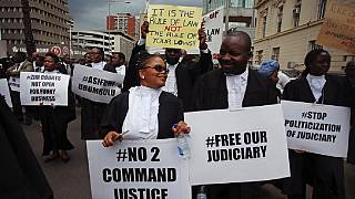 Zimbabwe lawyers protest against arbitrary detentions, convictions