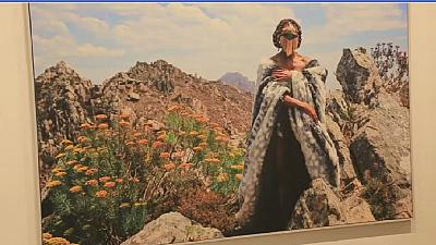 South African artist gets the picture by tapping her roots