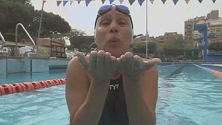 Nagwa Yousef Ghorab, nageuse à 76 ans