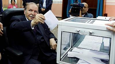Algeria's Bouteflika, 81, gets key backing for fifth-term bid