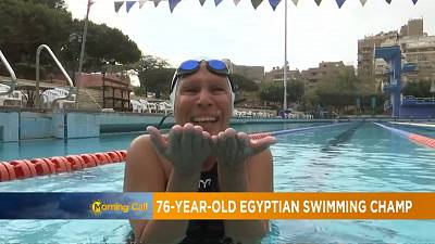 76-year-old Egyptian swimming champion [The Morning Call]
