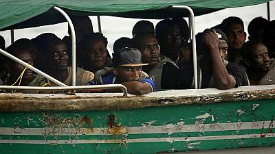 Colombia's navy recovers bodies of drowned 12 African migrants