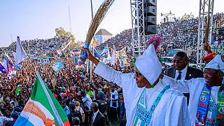 Nigeria: Buhari defends his first term in office in a rally