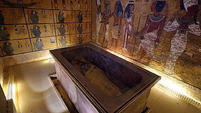 Tomb of Tutankhamun in Egypt undergoes repair works