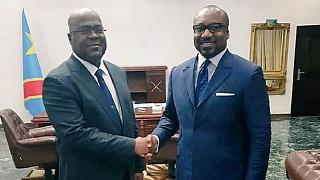 RDC : Christel Sassou Nguesso en visite chez Félix Tshisekedi