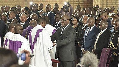 En RDC, une messe donnée en mémoire d'Étienne Tshisekedi