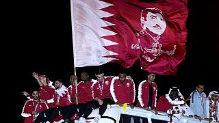 Qatar celebrates return of Asian Cup Champs
