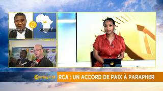 C.A.R: Peace deal to be initialled [The Morning Call]