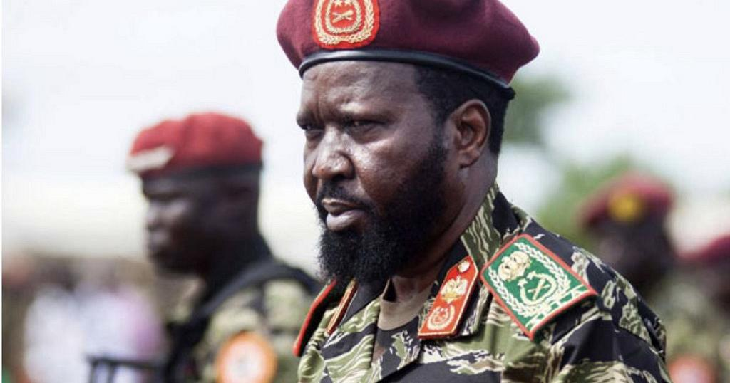 S Sudan Army General Charged With Treason Attempted