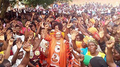 Malawi's Joyce Banda submits presidential bid