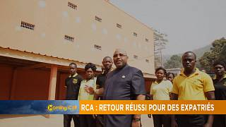C.A.R repatriates make successful return [The Morning Call]