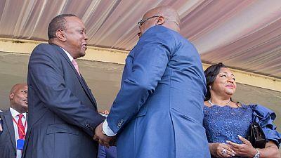 Le Kenya promet d'aider Tshisekedi à stabiliser la RDC