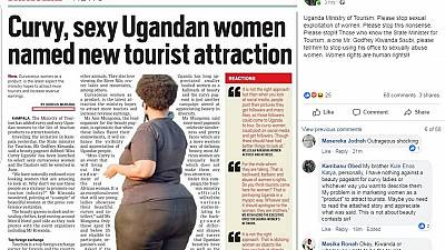 """En Ouganda, les femmes rondes présentées comme """"attraction touristique"""""""