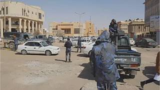 Eastern Libyan forces take over streets of Sebha city