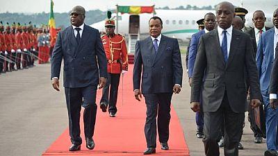 Congo-Brazzaville : Tshisekedi accueilli à l'aéroport par Sassou Nguesso et tout son gouvernement