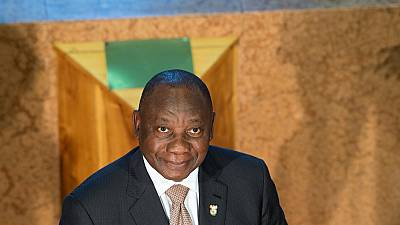 South African president pledges to fix economy as election looms