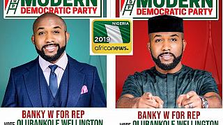 Nigerian popstar Banky W halts showbiz career for politics