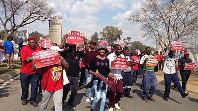 South African labour unions kick against plan to split state power firm Eskom