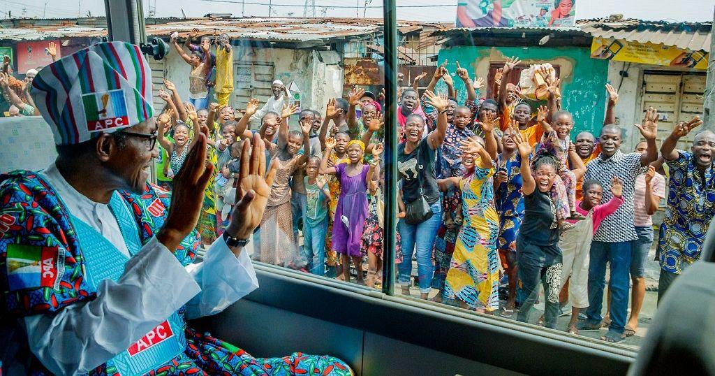 Buhari rallies Lagos, boasts about fighting corruption