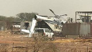 UN helicopter crash kills three in South Sudan