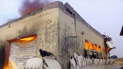 Nigeria election: Fire engulfs election office building in Plateau state