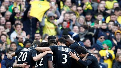 Nantes hold emotional tribute to Sala