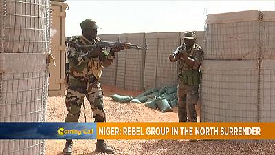 Niger: Rebel group in the north surrender [Morning Call]