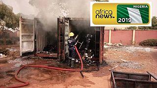 Élections au Nigeria: un incendie consume tout le matériel électoral dans la ville d'Awka