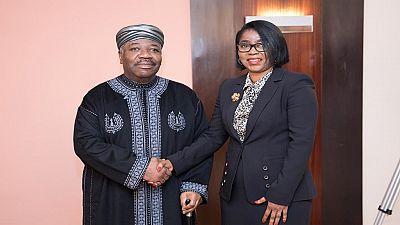 Gabon: la ministre de la Défense a prêté serment devant le président Bongo à Rabat