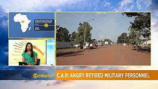 CAR: Retired military personnel protest [Morning Call]