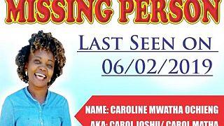 Kenyans mourn rights activist Caroline Mwatha