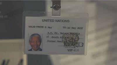 """""""L'héritage"""" de Nelson Mandela exposé à Londres"""