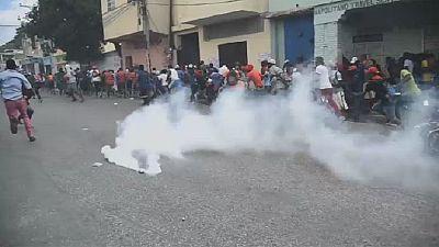 Scènes chaotiques en Haïti avec l'intensification de la révolte contre le président