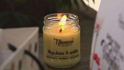Ouganda : le filon des bougies parfumées