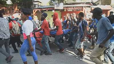 Haitian protest leaves one dead