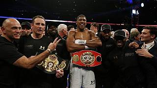 Anthony Joshua to defend his titles in New York on June 1