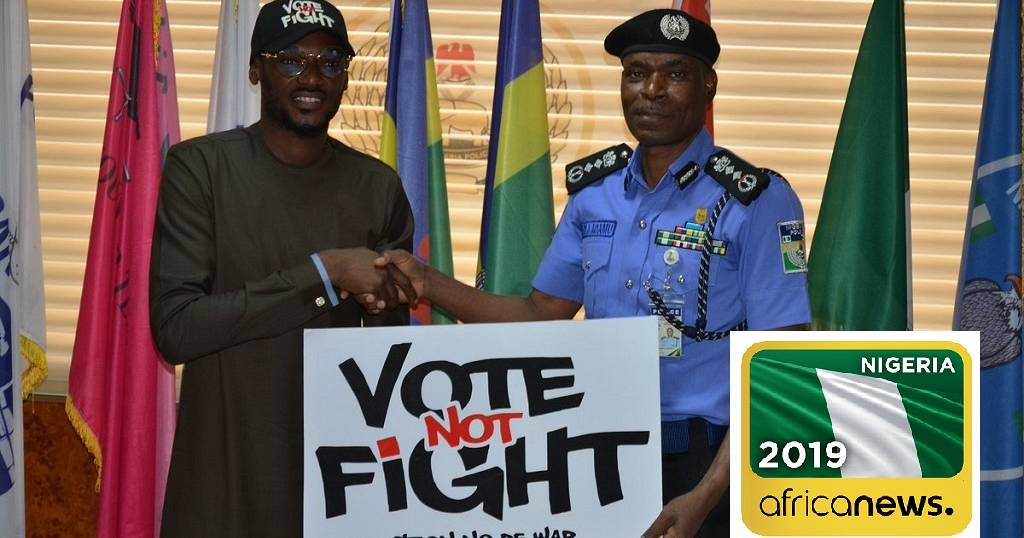 Nigeria police to restrict vehicular movement on voting day