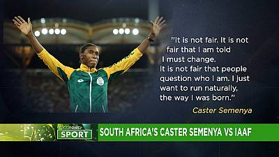 South Africa's Caster Semenya vs IAAF: a battle over testosterone levels