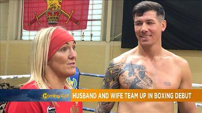 Un couple de boxeur sur le ring [The Morning Call]