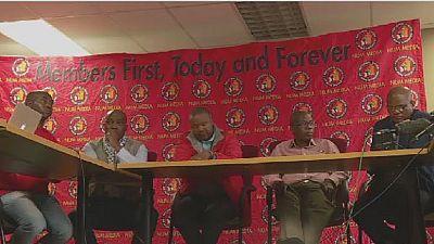 Afrique du Sud : les mineurs menacent de ne pas voter ANC