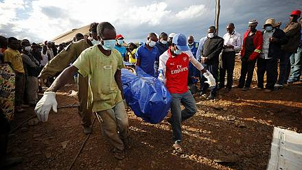 Zimbabwe: 22 bodies pulled from mine, 8 more alive