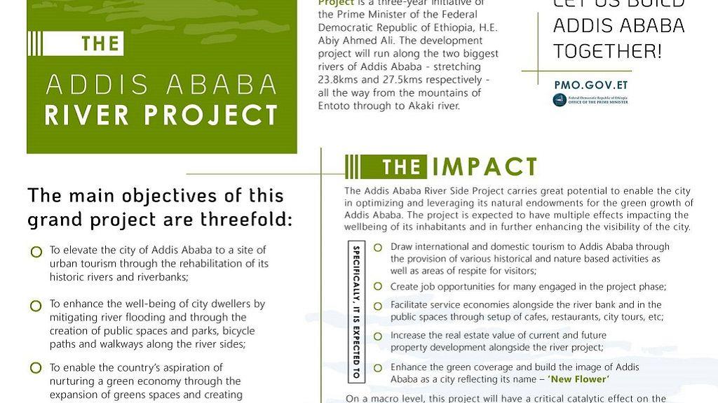 Addis Ababa Riverside Project: Ethiopia PM's futuristic
