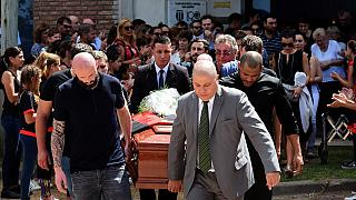 Sala's family bids final farewell