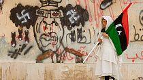 Libyans celebrate 8th revolution anniversary