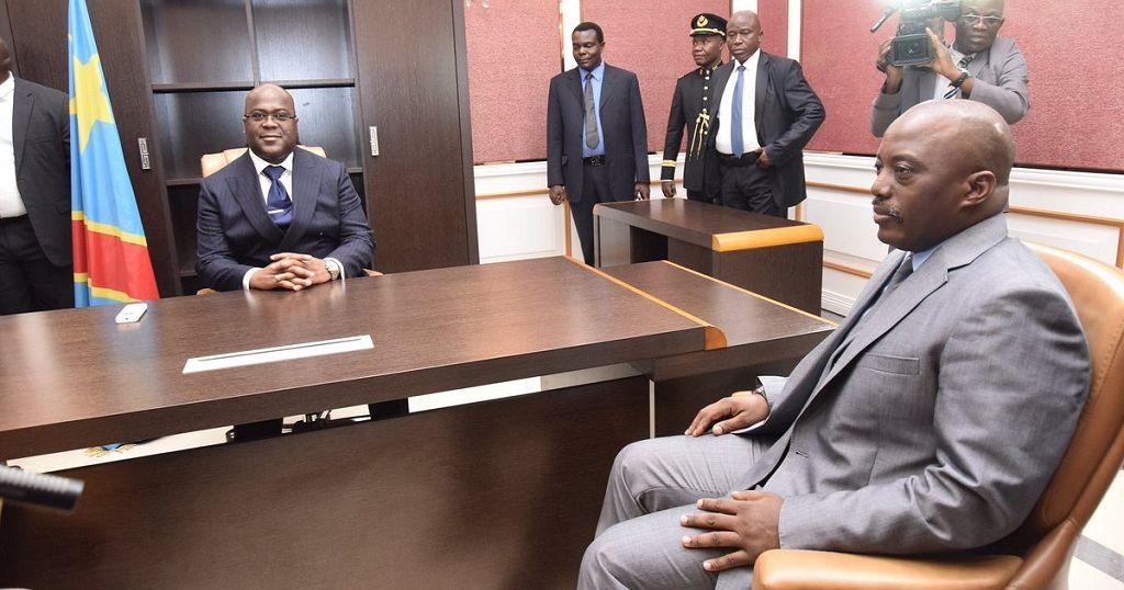Coalition gouvernemental en RDC : Thisekedi s'est entretenu avec Joseph Kabila