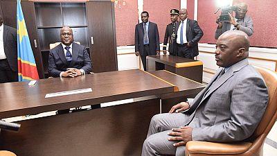 Coalition gouvernementale en RDC : Félix Tshisekedi s'est entretenu avec Joseph Kabila