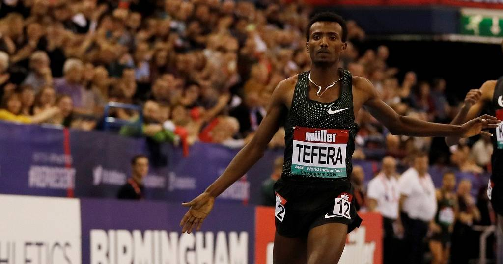 Ethiopian teenager smashes 1,500m world indoor record